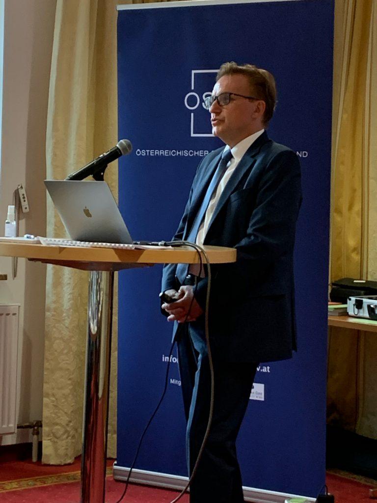 OSWV-Präsident Jürgen Irsigler
